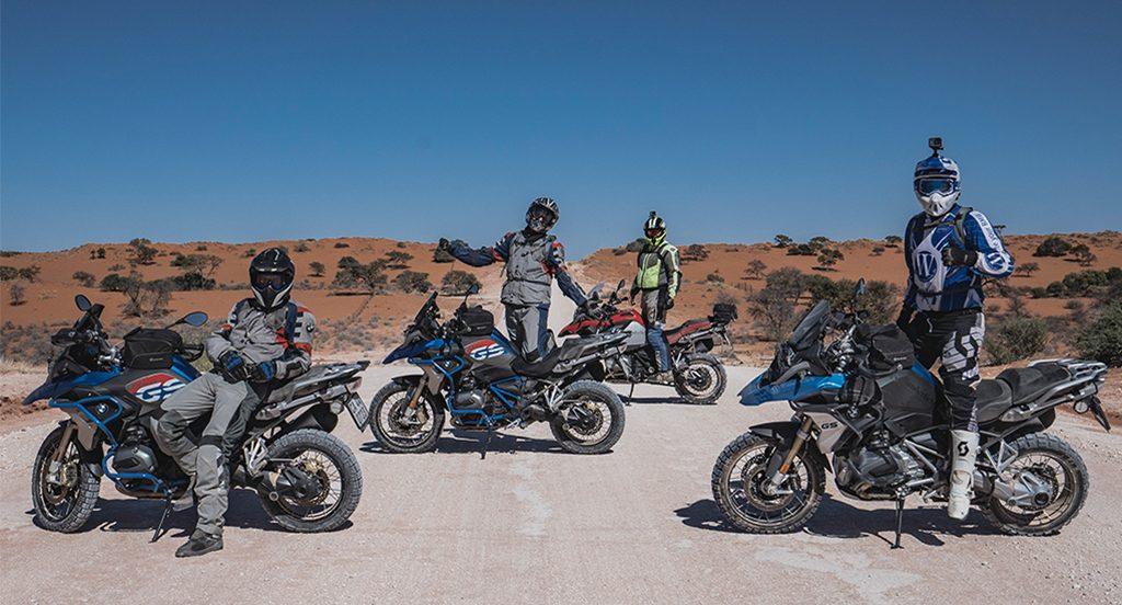 Motorradreise Afrika geführte Gruppenreise