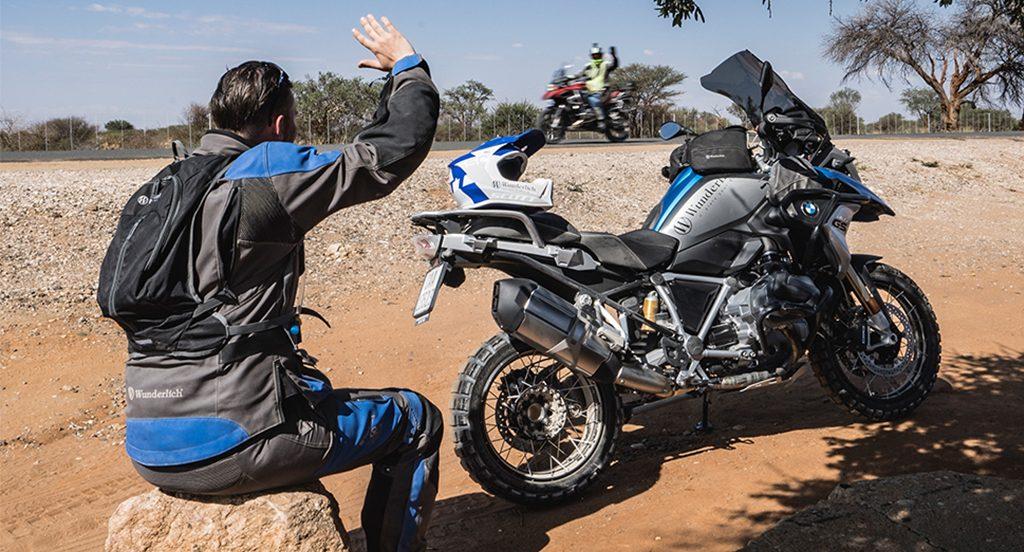 Afrika Motorradreise Gruppe Tour