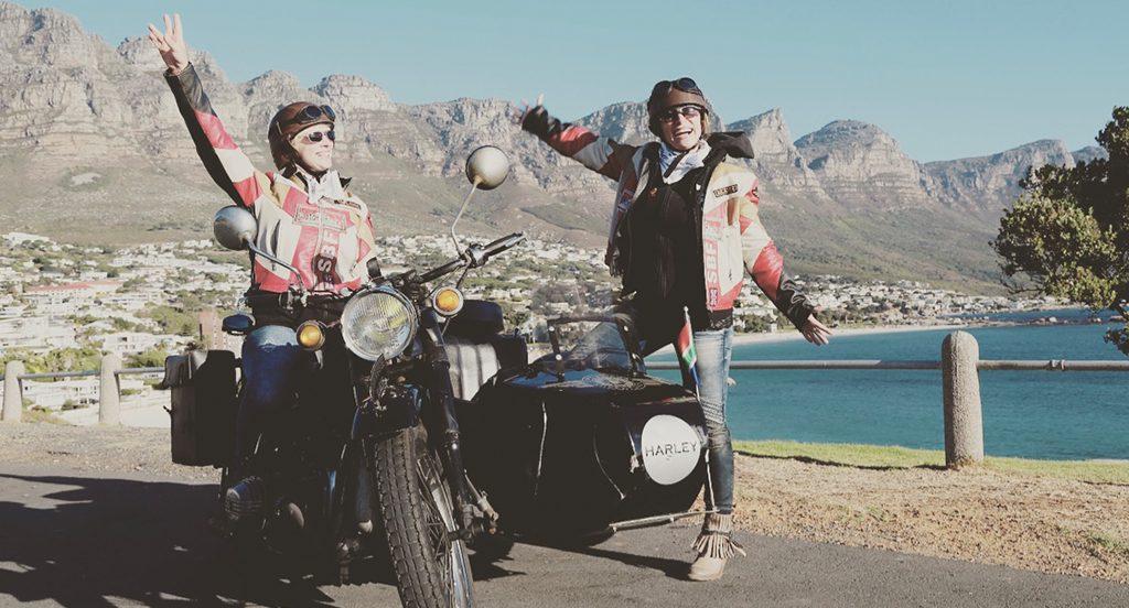 Afrika Südafrika Motorradtour mit Beiwagen