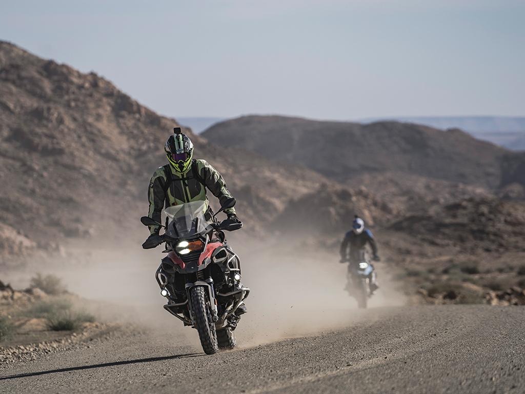 Unterwegs auf BMW Motorrad in Namibia