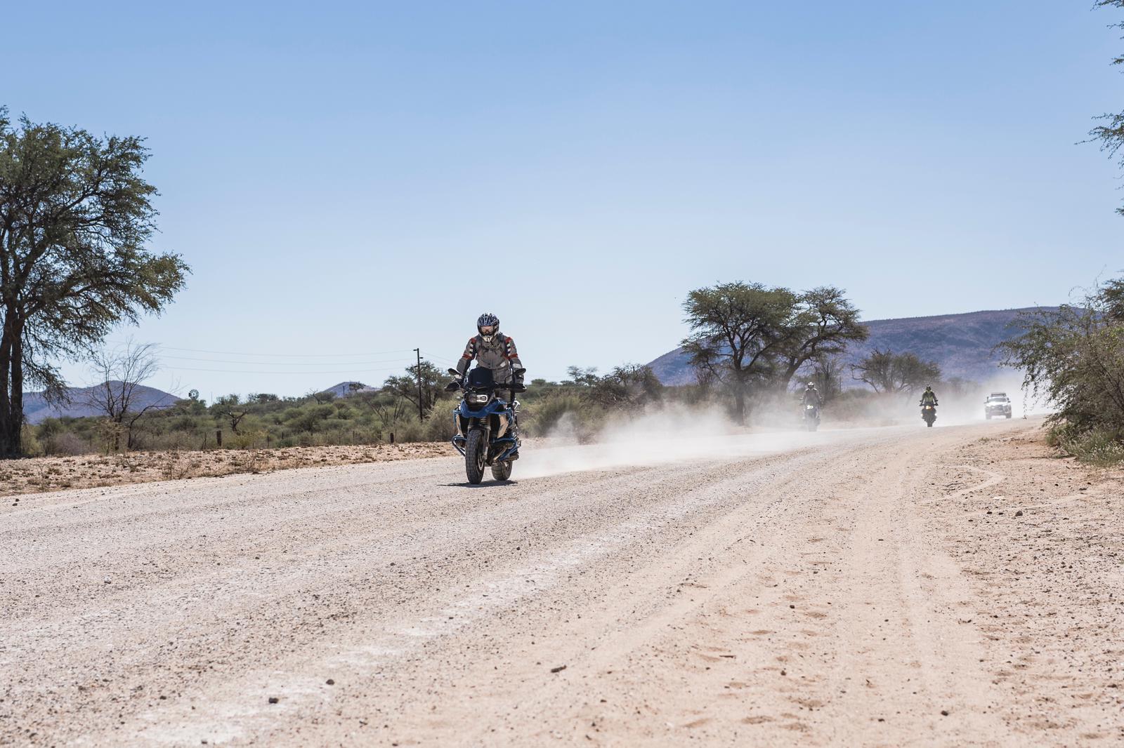 Auf der BMW GS durch Namibia: Wüstentummler-Tour 2019