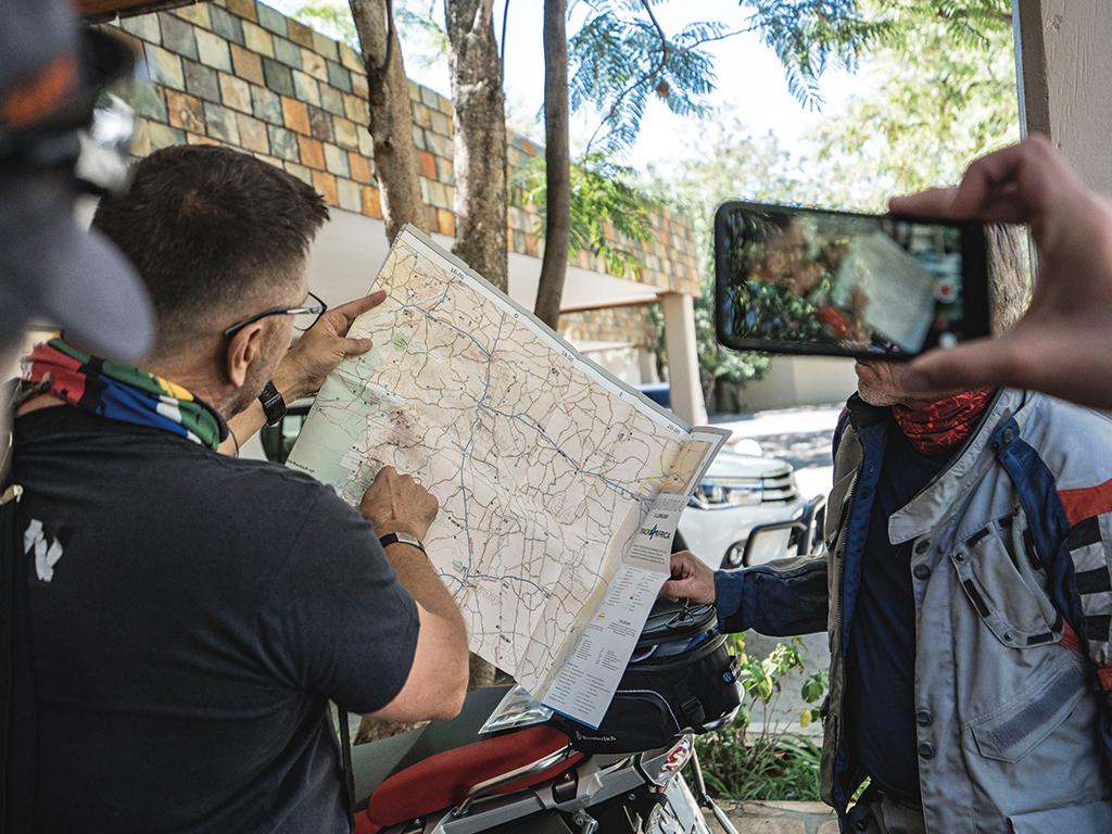 Die Planung Deiner Motorradreise macht Afrikabiker für Dich